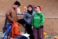 Povos de Arunachal Pradesh Imagens de Stock Royalty Free