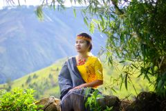 Povos de Batak Foto de Stock