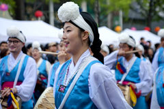 Povos de Coreia Imagem de Stock Royalty Free