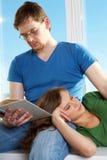 Povos de descanso Imagens de Stock