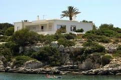Povos de Majorca na praia Foto de Stock