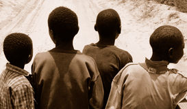 Povos de Mozambique Foto de Stock Royalty Free