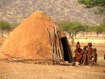 Povos de Namíbia Fotografia de Stock