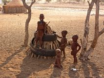 Povos de Namíbia Imagem de Stock Royalty Free