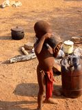 Povos de Namíbia Imagens de Stock