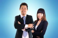 Povos de negócio asiáticos Foto de Stock