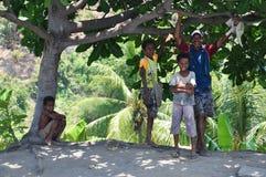 POVOS DE PAPUÁSIA-NOVA GUINÉ Foto de Stock Royalty Free