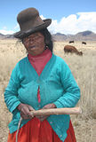 Povos de Peru Foto de Stock