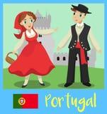 Povos de Portugal Imagens de Stock