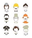 Povos de profissões diferentes Fotografia de Stock Royalty Free