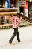 Povos de Sapa, Vietname Foto de Stock