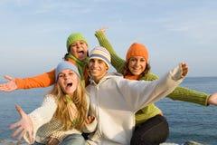 Povos de sorriso Fotos de Stock Royalty Free