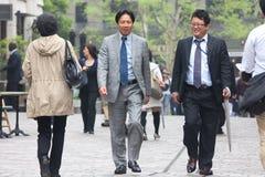 Povos de Tokyo Fotografia de Stock