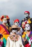 Povos desconhecidos no 15o dia anual o festival inoperante Foto de Stock