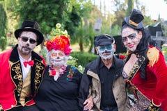 Povos desconhecidos no 15o dia anual o festival inoperante Fotos de Stock Royalty Free
