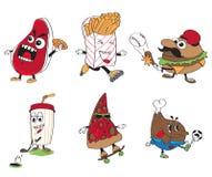 Povos do alimento Imagens de Stock Royalty Free