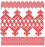 Povos do bordado do russo ilustração stock