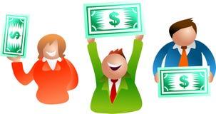 Povos do dólar Imagens de Stock