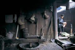 Povos do dong no sudoeste China foto de stock
