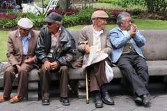 Povos do Ecuadorian Imagens de Stock Royalty Free