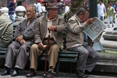 Povos do Ecuadorian Foto de Stock