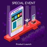Povos do evento especial isométricos Fotos de Stock Royalty Free