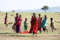 Povos do Masai imagens de stock