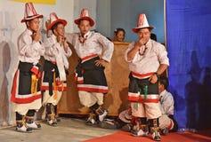 Povos do monte da Índia imagem de stock royalty free