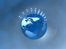 Povos do mundo Imagens de Stock