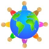 Povos do mundo Foto de Stock