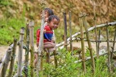 Povos do Pa do Sa em Vietname Fotografia de Stock Royalty Free
