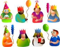 Povos do partido Imagens de Stock Royalty Free