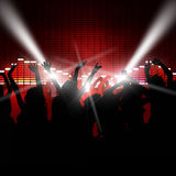 Povos do partido da música ilustração royalty free