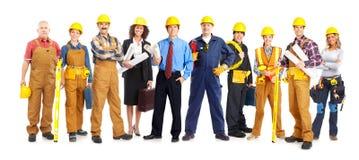Povos dos trabalhadores Foto de Stock