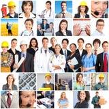 Povos dos trabalhadores Imagem de Stock Royalty Free