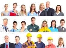 Povos dos trabalhadores Imagem de Stock