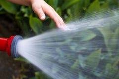 Povos e água Imagens de Stock Royalty Free