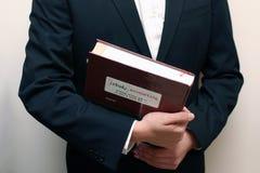 Povos e livro Foto de Stock Royalty Free