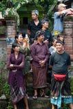 Povos e turista do Balinese foto de stock royalty free