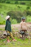 Povos em AKSUM, ETIÓPIA Foto de Stock