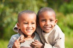 Povos em AKSUM, ETIÓPIA Foto de Stock Royalty Free