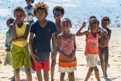 Povos em ANTANANARIVO, MADAGÁSCAR Imagens de Stock