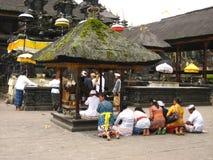 Povos em Bali Foto de Stock