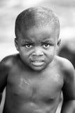 Povos em Benin, em preto e branco Imagem de Stock Royalty Free