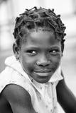 Povos em Benin, em preto e branco Imagens de Stock Royalty Free