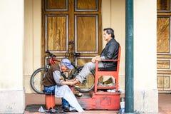 Povos em Equador Imagens de Stock