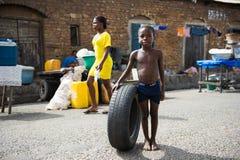 Povos em GANA Foto de Stock