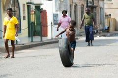 Povos em GANA Fotografia de Stock Royalty Free
