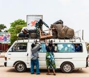 Povos em Kara, TOGO Imagens de Stock Royalty Free