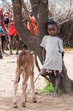 Povos em Kenya Imagens de Stock Royalty Free
